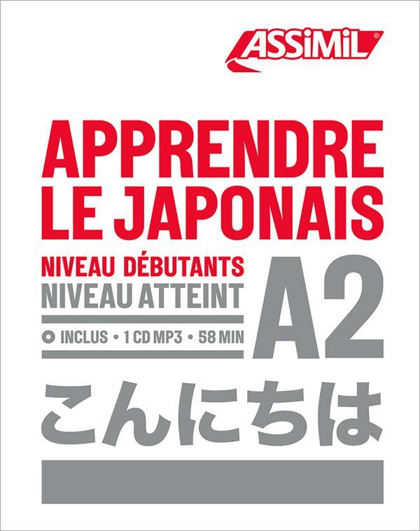 Apprendre le japonais ; débutants A2