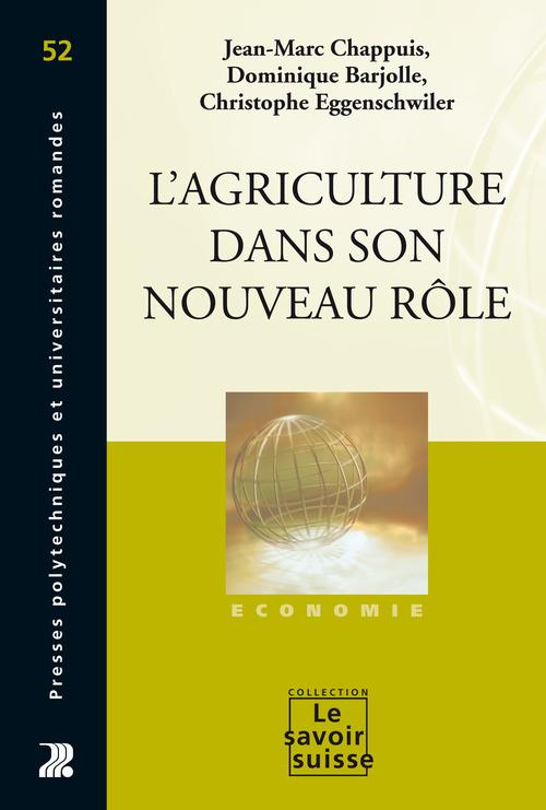 L'agriculture dans son nouveau rôle