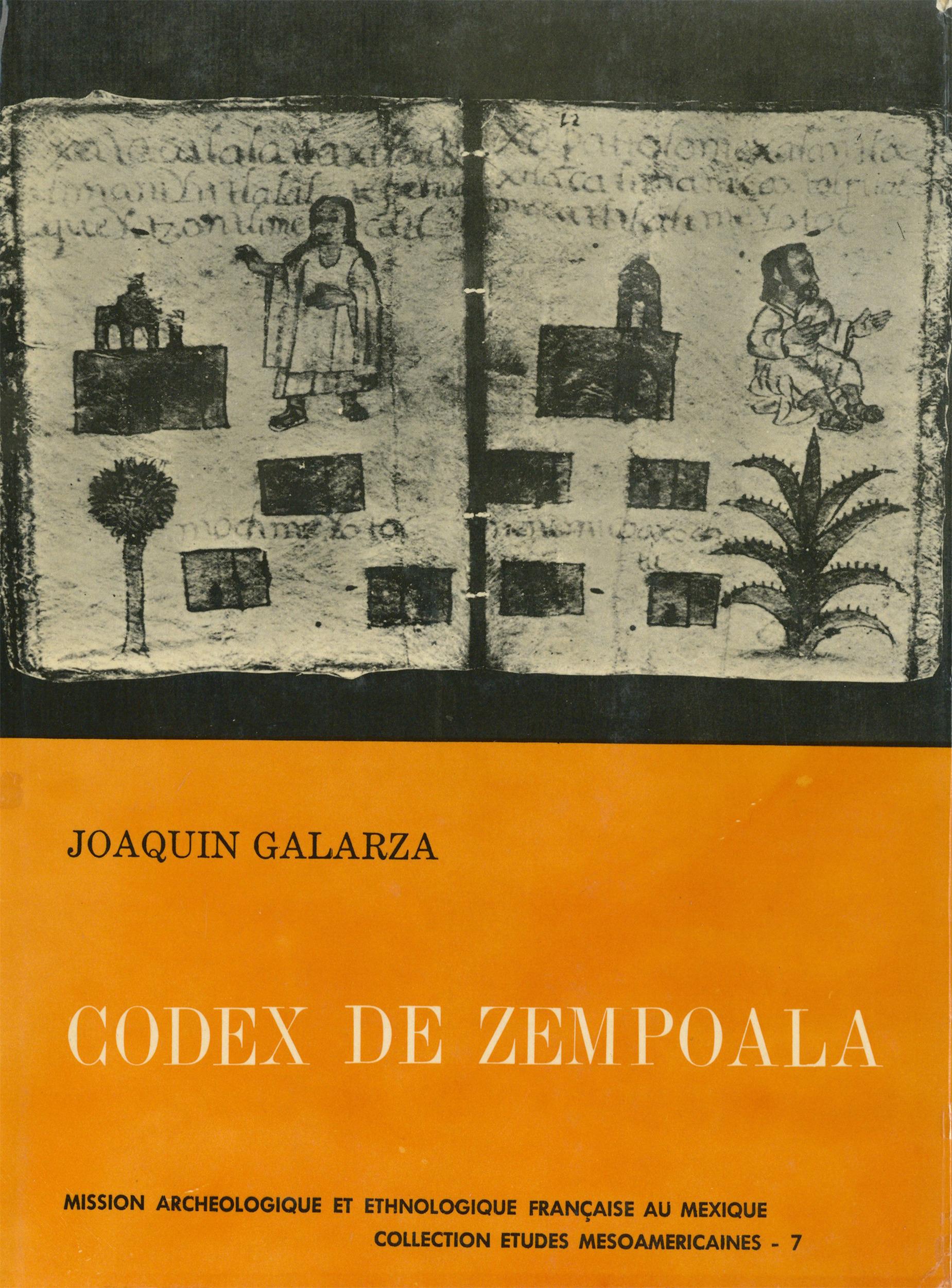 Codex de Zempoala  - Joaquin Galarza