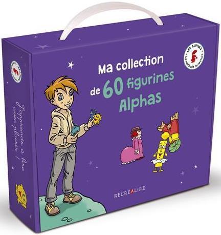 apprendre à lire avec les Alphas ; ma collection de 60 figurines Alphas
