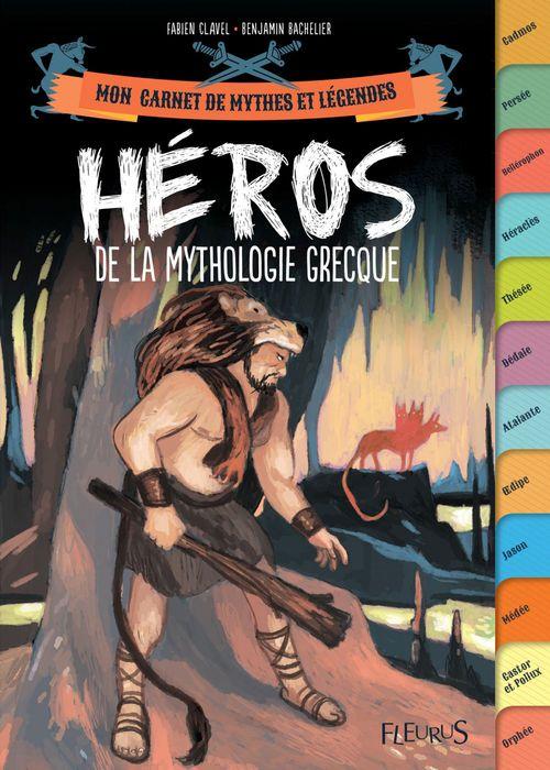 Vente Livre Numérique : Héros de la mythologie grecque  - Fabien Clavel
