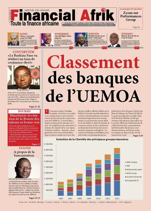 Financial Afrik n°3 fevrier 2014
