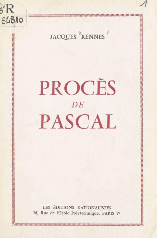 Procès de Pascal