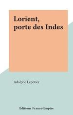 Lorient, porte des Indes