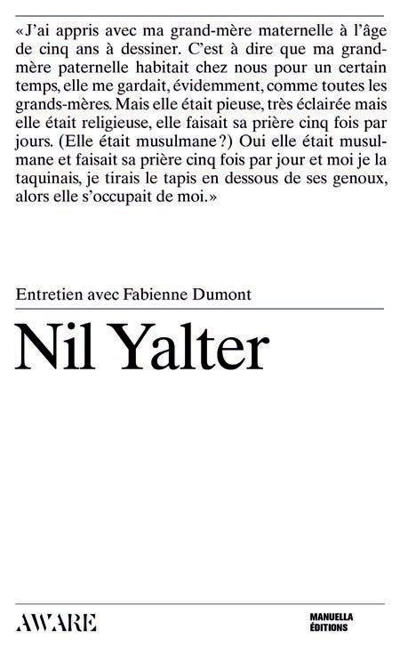 Nil Yalter, entretien avec Fabienne Dumont