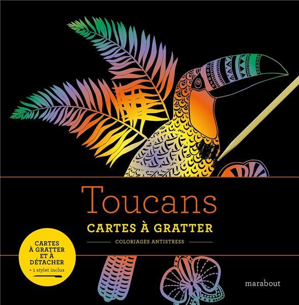 TOUCANS  -  CARTES A GRATTER