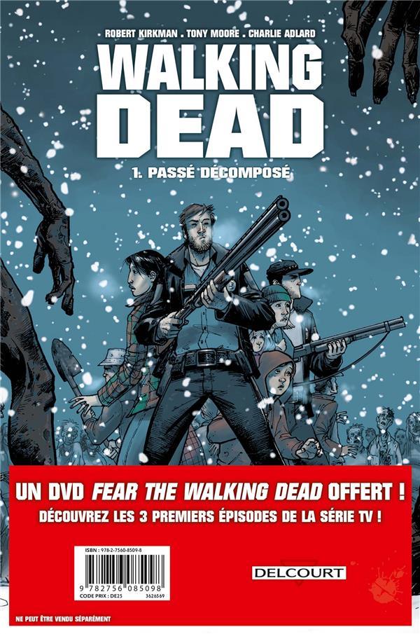 Walking dead T.1 ; passé décomposé