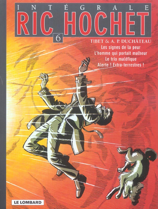 Ric Hochet ; INTEGRALE VOL.6