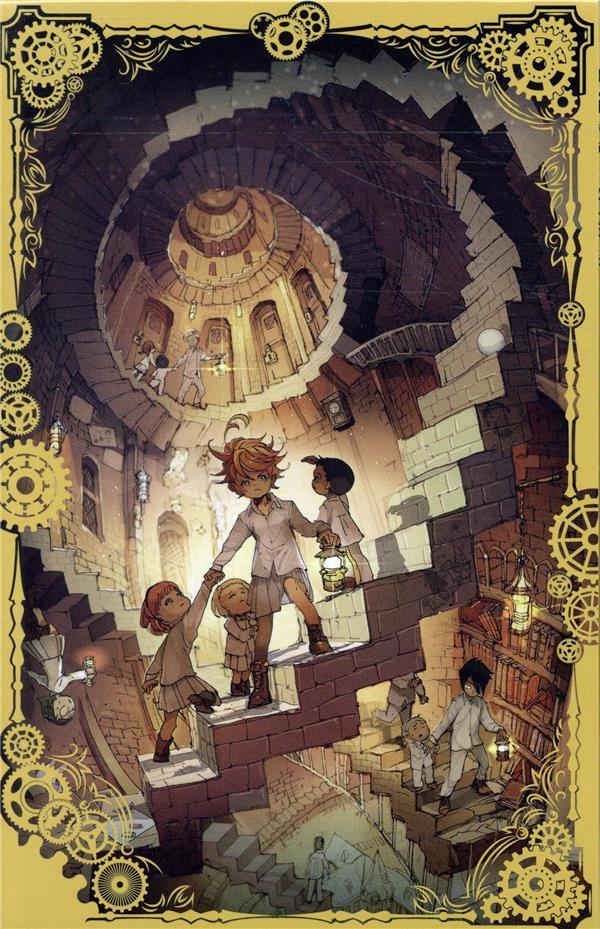 The promised Neverland ; coffret vol.1 ; t.1 à t.3