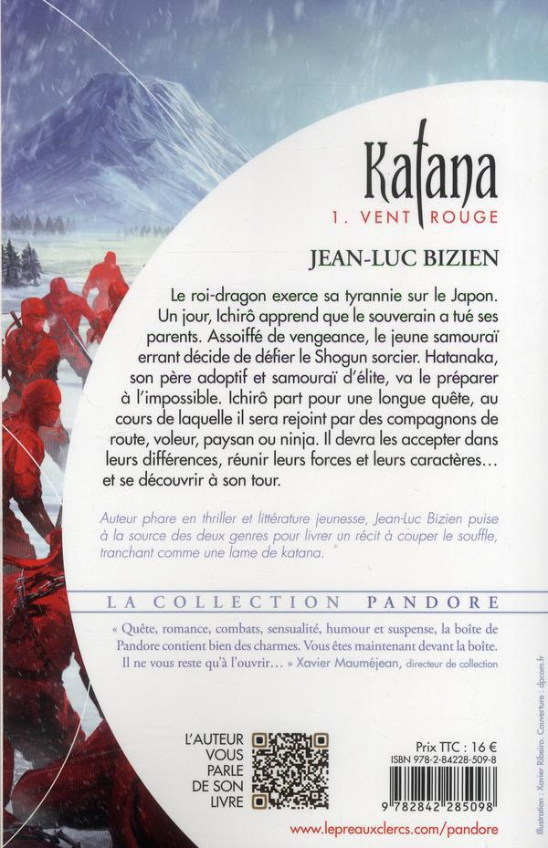 Katana t.1 ; vent rouge