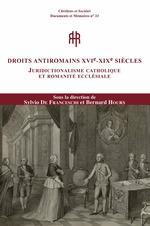 Vente Livre Numérique : Droits antiromains XVIe-XXIe siècles  - Bernard Hours - Sylvio de Franceschi