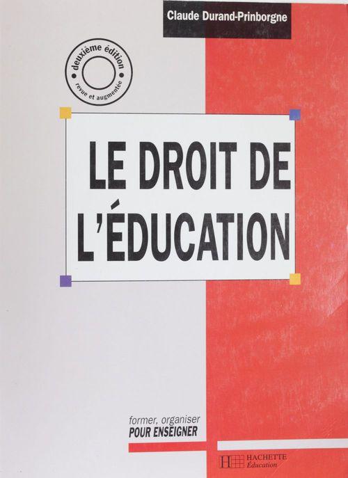 Le droit de l'education