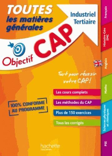 OBJECTIF CAP ; toutes les matières générales