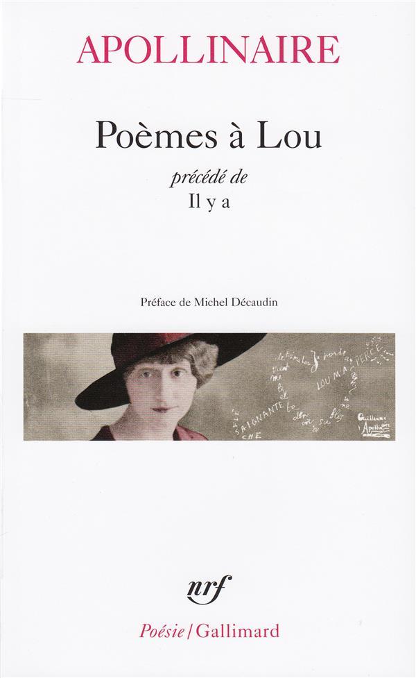 Poèmes à Lou ;  il y a