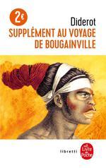 Couverture de Supplément au voyage de bougainville