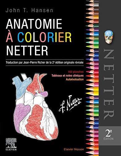 Anatomie à colorier Netter (2e édition)