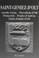 Saint-Geniez-d'Olt (Sent-Ginièis)  - Christian-Pierre Bedel - Mission départementale de la culture
