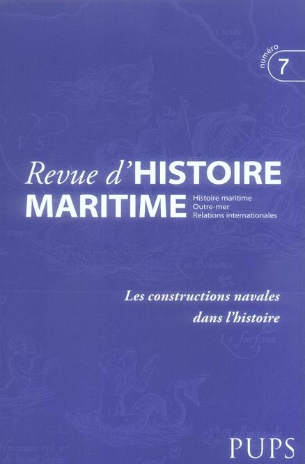 Les constructions navales dans l'histoire