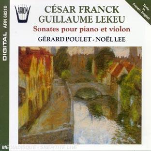 Sonate Pour Piano & Violon