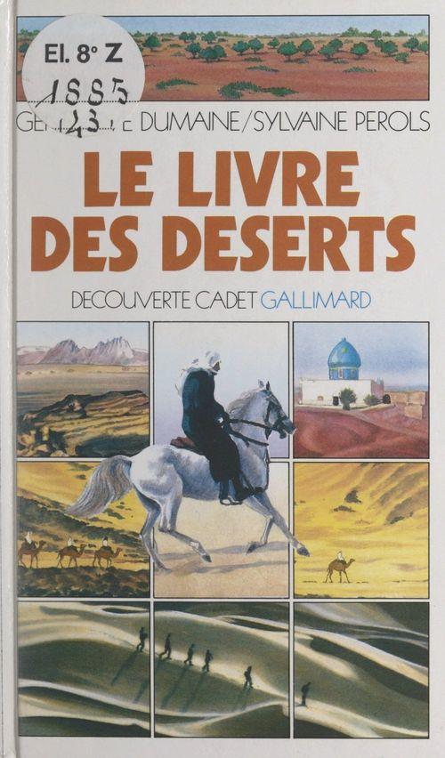 Le livre des déserts