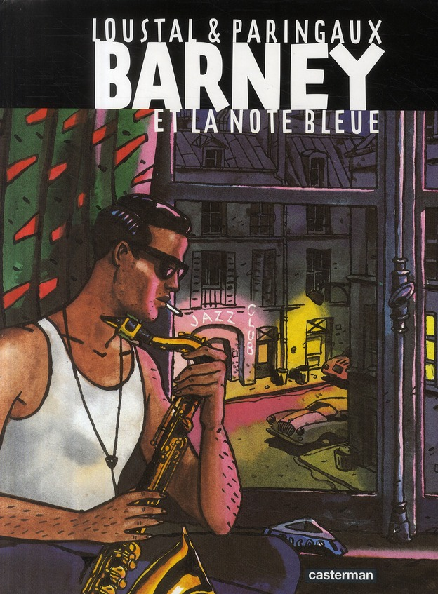 Barney et la note bleue