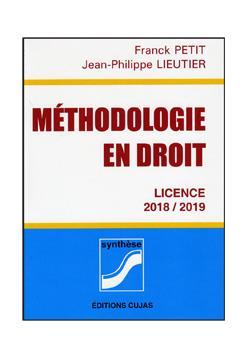Méthodologie en droit ; licences (édition 2018/2019)