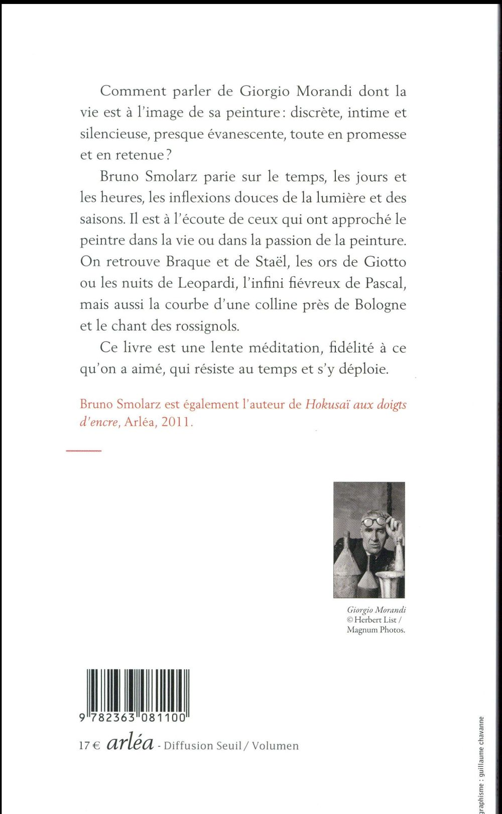 Giorgio Morandi, les jours et les heures