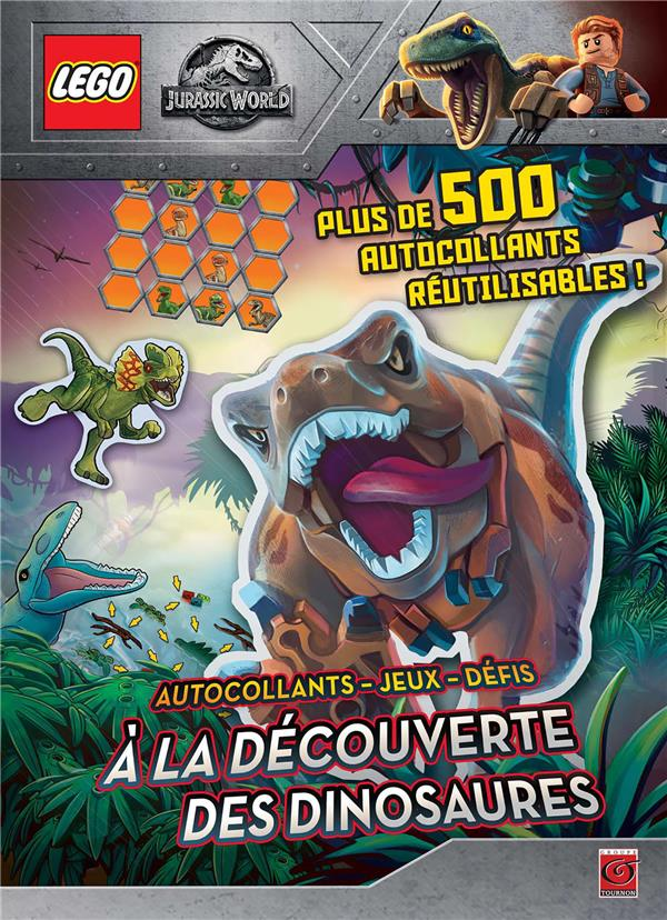 Lego - Jurassic World ; à la découverte des dinosaures