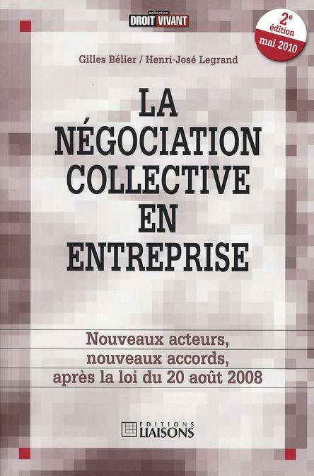 La négociation collective en entreprise (2e édition)