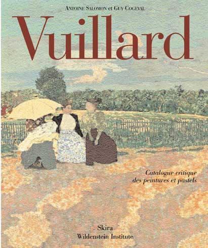 Vuillard ; catalogue critique des peintures et pastels