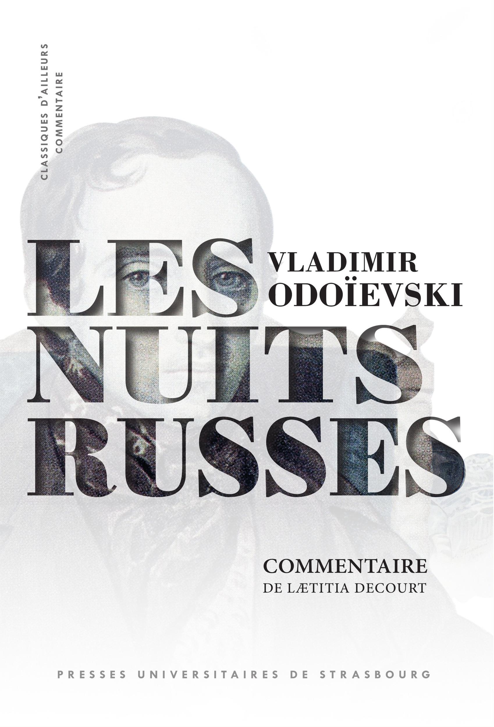 """Vladimir odoievski, """"les nuits russes"""" - 1844  - Lætitia Decourt  - Decourt Laetitia"""