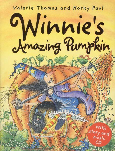 WINNIE'S AMAZING PUMPKIN - PAPERBACK WITH AUDIO CD