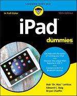 Vente Livre Numérique : IPad For Dummies  - Edward C. BAIG - Bob LEVITUS - Bryan Chaffin