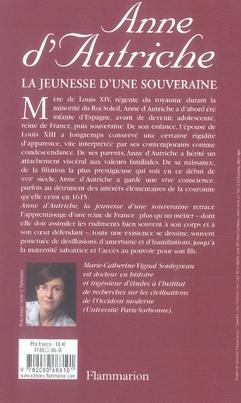 Anne d'autriche - la jeunesse d'une souveraine