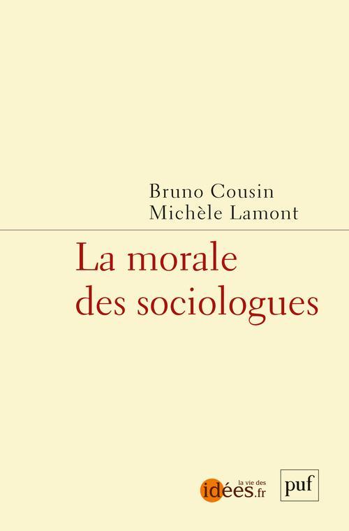 la morale des sociologues