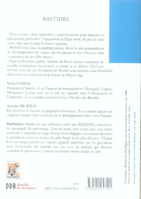 Bastides ; villes neuves médiévales
