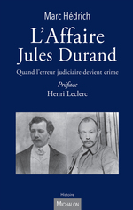 L'Affaire Jules Durand  - Marc Hédrich