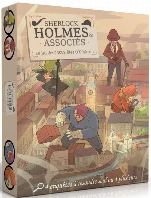 SHERLOCK HOLMES - LE JEU DONT VOUS ETES LE HEROS