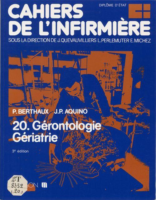 Cahiers de l infirmiere n20 gerontologie geriatrie