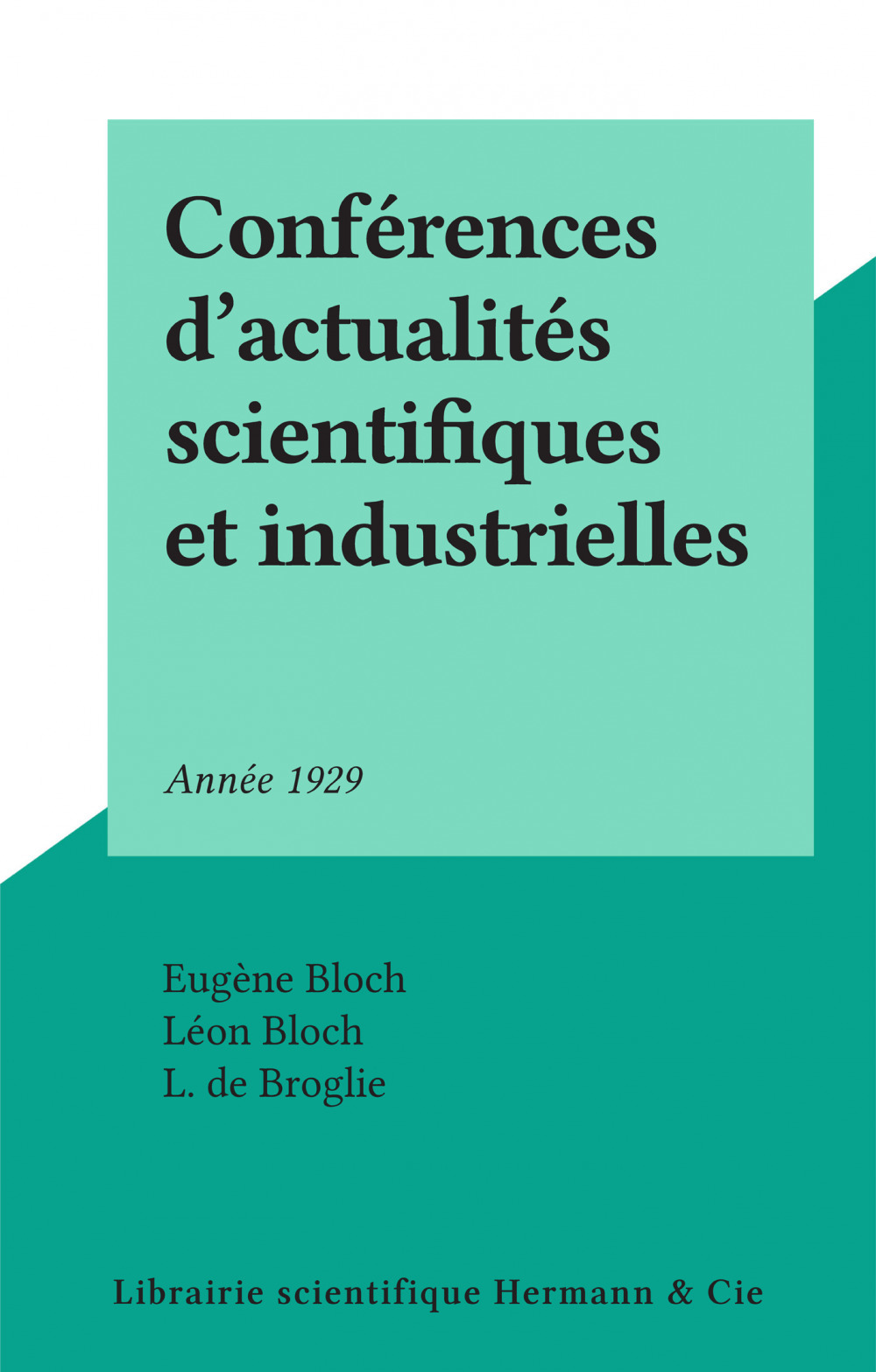 Conférences d'actualités scientifiques et industrielles