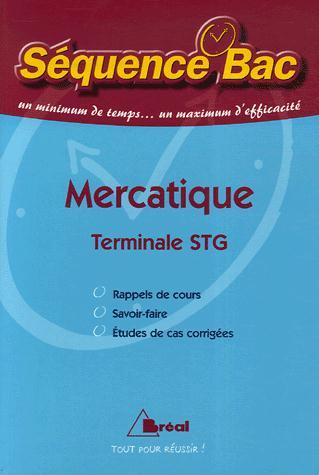 mercatique ; terminale STG