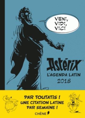 Astérix, l'agenda latin (édition 2018)