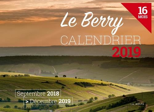 Calendrier ; le Berry (édition 2019)