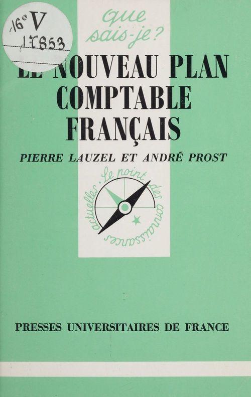 Le nouveau plan comptable francais qsj 1157