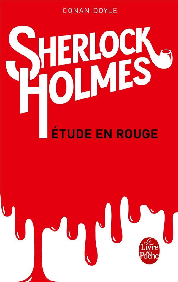 Sherlock Holmes ; Etude En Rouge