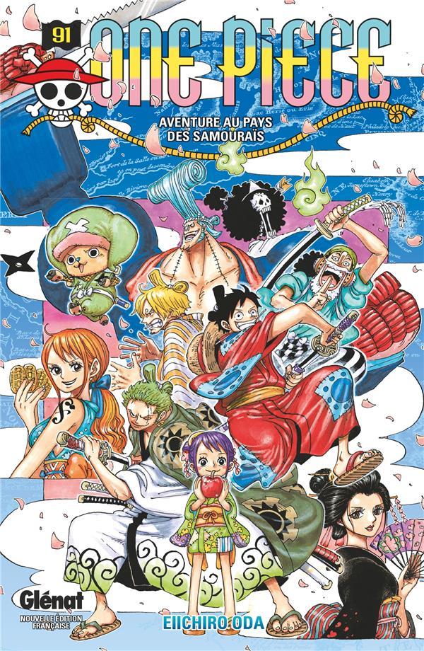 One Piece - édition originale t.91 ; aventure au pays des samouraïs