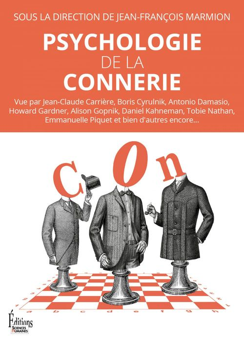 Vente EBooks : Psychologie de la connerie  - Jean-François Marmion