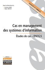 Vente EBooks : Cas en management des systèmes d'information  - Marc Bidan - Cécile Godé