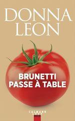 Vente Livre Numérique : Brunetti passe à table  - Roberta Pianaro - Donna Leon