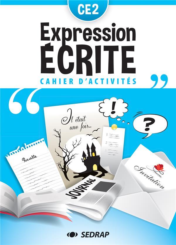 Cahier d'expression écrite ; CE2 ; cahier d'activités